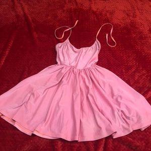 Pink American apparel dress